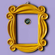 Add a slice of true Friends nostalgia to your home with this super-fun Friends Peephole Picture Frame. This wonderful piece of memorabilia allows you to have the iconic peephole picture frame from Monica and Rachel's apartment in your own home. Friends Door Frame, Friends Picture Frame, Picture Frames, Picture Wall, Friends Memorabilia, Friends Merchandise, Friends Moments, Friends Tv Show, True Friends