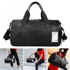 Hot Selling Women Men Fitness Bag Solid PU Waterproof Large Capacity Sport Totes for Travelling Price: 15.85 & FREE Shipping #bag #chanel #clothes #siambrandname #followme #luxury #sbn #happy #follow #fashionblogger #summer #instadaily Getting Wet, Shoe Box, Mens Fitness, Travelling, Gym Bag, Totes, Chanel, The Incredibles, Pairs