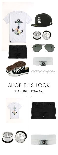 """""""A set just for babe"""" by ohhhifyouonlyknew ❤ liked on Polyvore featuring Tavik, MANGO, Converse, Hot Topic, Ray-Ban, iloveyou and girlfriend"""