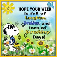 Snoopy new week quote. Good Morning Snoopy, Good Morning Greetings, Snoopy Images, Snoopy Pictures, Charlie Brown Quotes, Charlie Brown And Snoopy, Peanuts Quotes, Snoopy Quotes, Minions Quotes