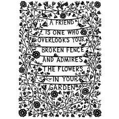 Suzy Taylor Friendship Papercut