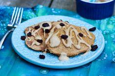 Butternut Squash Protein Pancakes | Less sugar than bananas