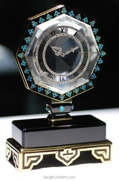cartier antique clocks | vintage cartier mystery clock repinned from time and clocks by funaek