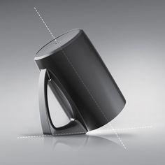完美角度 杯子不再裝灰塵 Bevel Cup – Angular Handle Cup | MyDesy 淘靈感