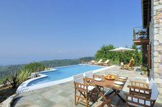 Villa Ortansia - The garden of Pelion Planet Earth, Planets, Greece, Villa, Garden, Outdoor Decor, Home Decor, Greece Country, Garten