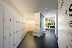 This new 52-bike studio is SoulCycle's first location in California. The full-height glass storefront is used as a canvas for branded signage. SoulCycle's in...