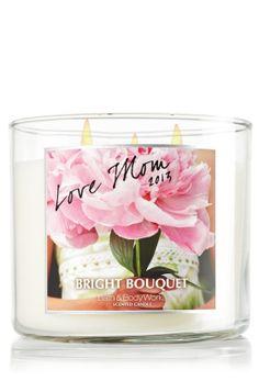 Love Mom 14.5 oz. 3-Wick Candle - Slatkin & Co. - Bath & Body Works
