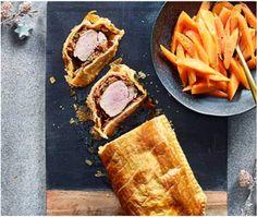 Solomillo de cerdo envuelto en hojaldre - Periodista Digital Carne, Waffles, French Toast, Breakfast, Sweet, Desserts, Cooking Ideas, Food Food, Risotto