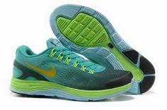 Nike LunarGlide 4 Mesh Homme Chaussures De Course Bleu Clair/Vol €85.00  €55.00 Economie : 35%