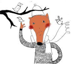 Der Fuchs und die Vögel