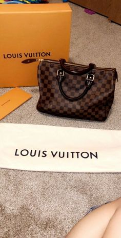 0d3407f90317 Louis Vuitton Speedy 30 Damier Azur Canvas #fashion #clothing #shoes  #accessories #womensbagshandbags (ebay link)