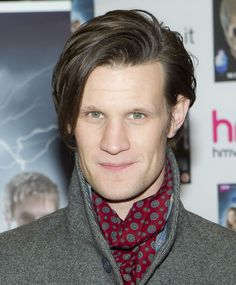 Matt Smith green eyes
