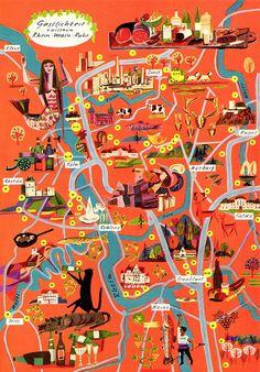 gastronomic maps of dr. schwartz corp.