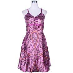 Cotton Sleeveless Dress - Kathmandu Clothing