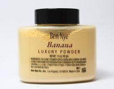 BEN NYE BANANA POWDER Pelos ingredientes desconfio que seja praticamente idêntico ao Bare Minerals Mineral Veil, só que em amarelo corretor, bem melhor que aquele branco pálido! Tem outras cores de pele tbm. Infinitamente mais barato tbm!