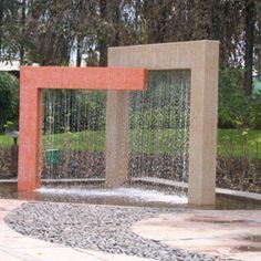 Rain Curtain Fountains