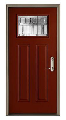 Lovely Pella Craftsman Entry Door