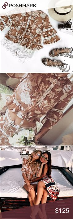 Brand new for love and lemons top Matching skirt in XS is listed separately. For Love and Lemons Tops