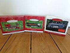Hallmark #christmas ornament lot of 3 #lionel train  hudson #chessie,  View more on the LINK: http://www.zeppy.io/product/gb/2/331871871284/