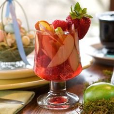 Delightfully refreshing and a healthier option at the same time, make your own fresh fruit cocktail right at home!
