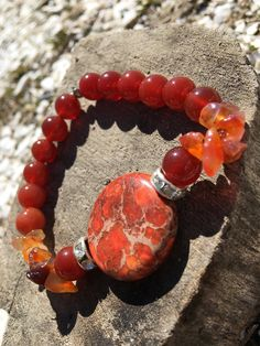 A personal favorite from my Etsy shop https://www.etsy.com/listing/516670845/reiki-infused-carnelian-stretch-bracelet