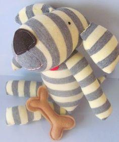 Design your own Sock Animal Diy Sock Toys, Sock Crafts, Felt Crafts, Sock Dolls, Felt Dolls, Rag Dolls, Fabric Dolls, Crochet Dolls, Design Your Own Socks