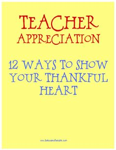 Ask your child what they love about their teacher (or dad for Father's Day) and this site will automatically turn it into a heart shaped poem. 15 other Ideas for Teacher Appreciation gifts