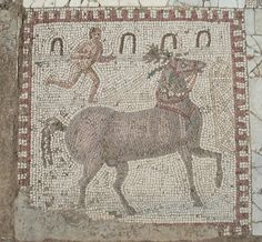 House of Horses (4c.), Carthage, Tunisia Ancient Ruins, Ancient Rome, Ancient Art, Ancient History, Stone Mosaic, Mosaic Art, Villa Romaine, Art Romain, Louvre Museum