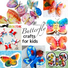 butterflly - crafts for kids