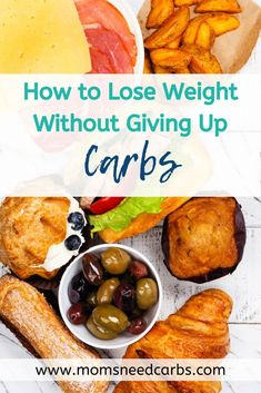 We have been through many different diet programs and weight loss strategies and we finally realized that Moms Need Carbs. They are an important macronutrient and when you avoid them you're actually hurting your body in the long run. Check out our free guide on how to lose weight without cutting carbs out of your diet, live diet free, and finally reach your weight loss goals! #optimumnutrition #macros #nutrition #healthyoptions #keto #lowcarb #healthycarbs #countingmacros #foodportions