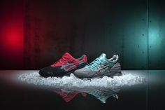 The Asics Christmas Pack will be released this midnight online @ www.the-upper-club.com