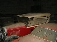 Someone Found A Huge Barn Full Of Classic Cars In Portugal Possibly As Many