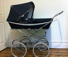 My babies rode in a pram like this although ours is black........  Nice on most men and women http://www.geojono.com/