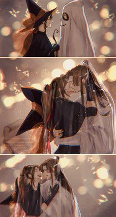Manado, Anime Boy Long Hair, Hero Meme, Shounen Ai Anime, Bl Comics, Chinese Cartoon, Boys Long Hairstyles, Alucard, Halloween Night