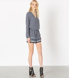 In too deep. Go from casual brunch to chic cocktails wearing this effortless romper (also, it's 25% OFF).