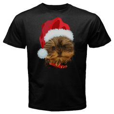Sale New Custom YorkshireTerrier Dog Christmas Black t-shirt size S M L XL 2XL 3XL, $24.99