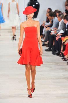 Ralph Lauren at New York Fashion Week Spring 2013