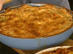 Oyster Pie 1 pt oysters drained 2 cups cooked spinach 2 Tbsp light cream 1 medium Shallot minced Phyllo Pastry Salt and pepper to taste ½ cup Butter ½ cup Olive oil Drain spinach well, set aside, mix olive oil and butter.  For More Information go to https://www.facebook.com/WhatsForSupperWithSharonPeeleKennedy