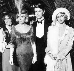 Maria Schell, Kim Novak, David Bowie and Sydne Rome in Just A Gigolo
