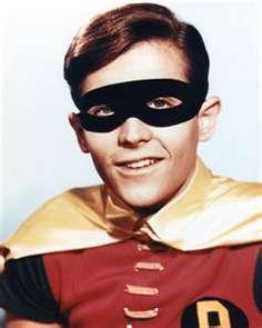 "Burt Ward as "" Robin"" 1960's series, Batman"