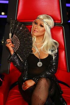 Loving the headband Christina Aguilera! #TheVoice