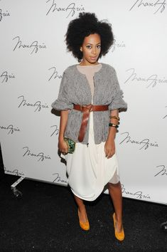 How To Wear Belts How To Style Like Solange Knowles: Street Style Inspirations - Discover how to make the belt the ideal complement to enhance your figure.