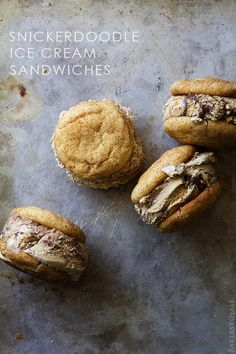 hold the phone... Snickerdoodle Ice Cream Sandwiches!