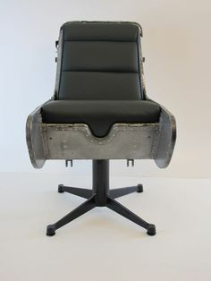 B Canberra Bomber Ejection Seat fice Chair Leather Industrial Air Force