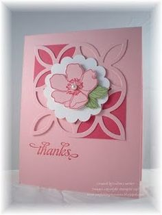by Deb Currier, ARTfelt Impressions--the colors in this card would make it a  really nice valentines card by just changing rthe saying,