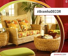Perfect Go Rustic With Cane Furniture That Gives Your Home A Vintage Yet Stylish  Look. Pictures