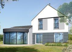 Constructeur de maison maison contemporaine avec patio 108,75 m² habitable Constructeur Maisons Berval