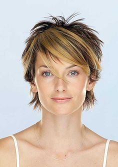 Short Hair Color for Women-7