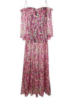 Shop Raquel Diniz floral print dress Pink Dress, New Dress, Dress Up, Flower Dresses, Day Dresses, Fashion Prints, Fashion Design, Engagement Outfits, Pink Silk