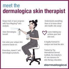 Dermalogica Skin Therapist...Maria!